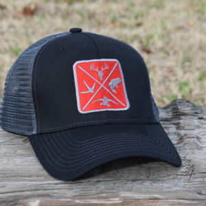 633c0144be11 OUTDOOR LIFESTYLE CAP SERIES BLACK RED PATCH